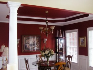 Gorgeous custom dining room, designed and built by Jeda Homes!