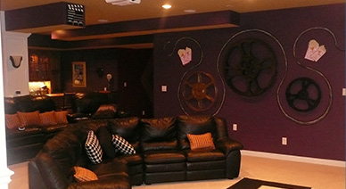 Basement Remodeling 2 by Jeda Homes
