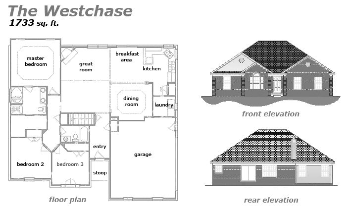 The Westchase Floor Plan by Jeda Homes