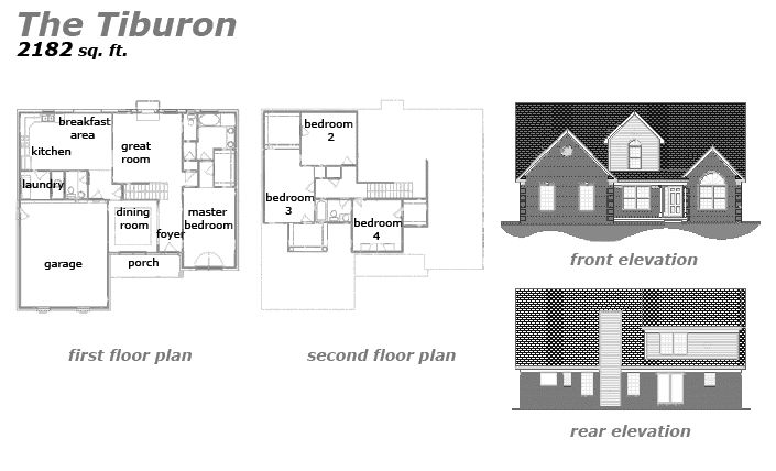 The Tiburon Floor Plan by Jeda Homes
