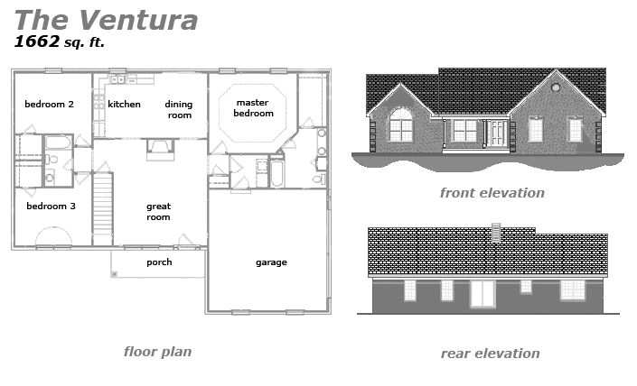 The Ventura Floor Plan by Jeda Homes