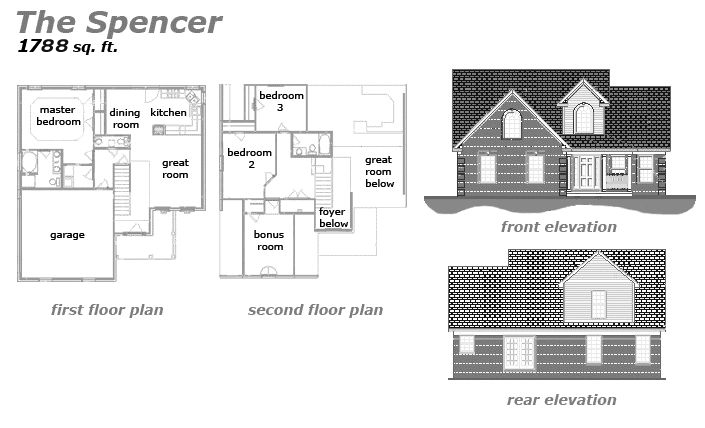 The Spencer Floor Plan by Jeda Homes