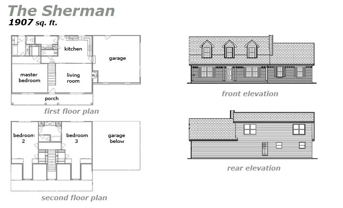The Sherman Floor Plan by Jeda Homes