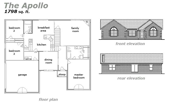The Apollo Floor Plan by Jeda Homes