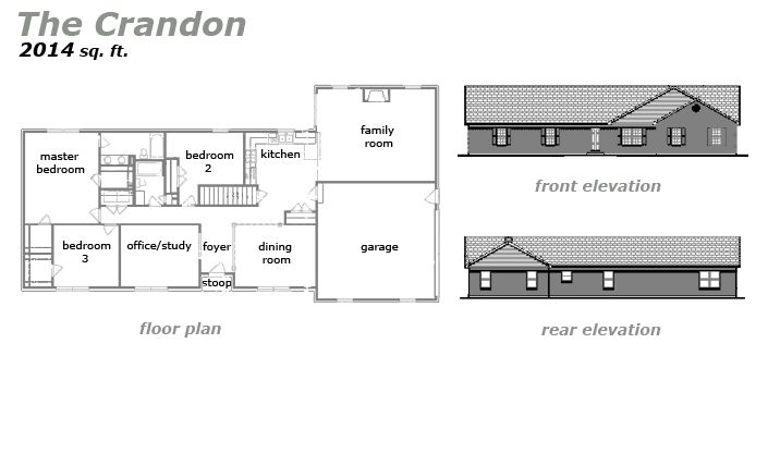 The Crandon Floor Plan by Jeda Homes