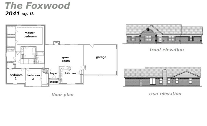 The Foxwood Floor Plan by Jeda Homes