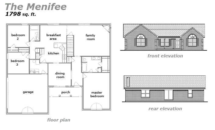The Menifree Floor Plan by Jeda Homes
