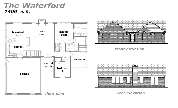 The Waterford Floor Plan by Jeda Homes