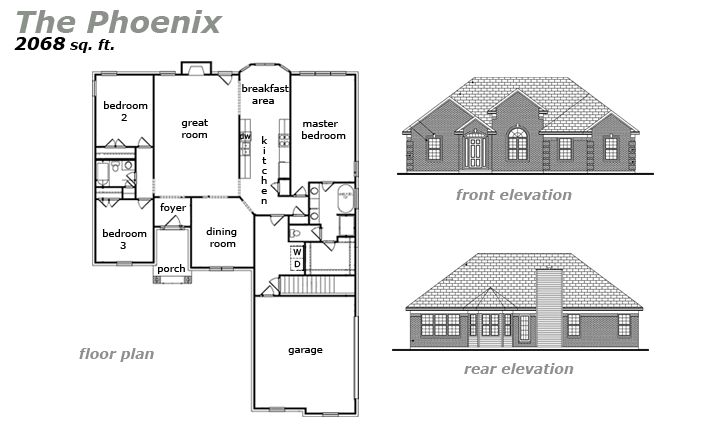 The Phoenix Floor Plan by Jeda Homes