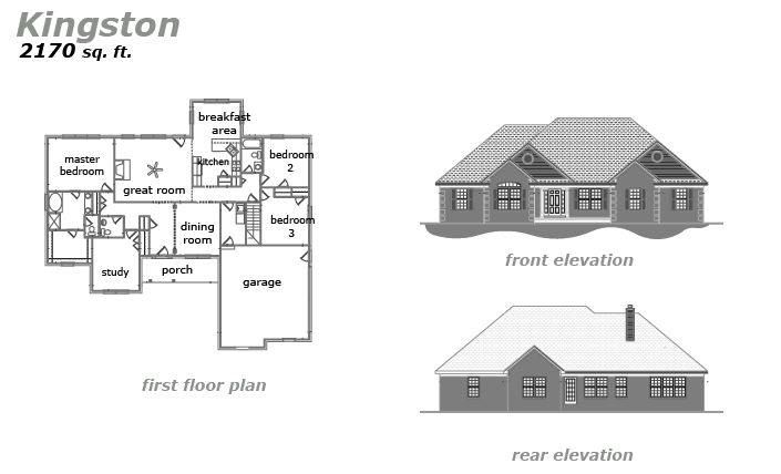 The Kingston Floor Plan by Jeda Homes