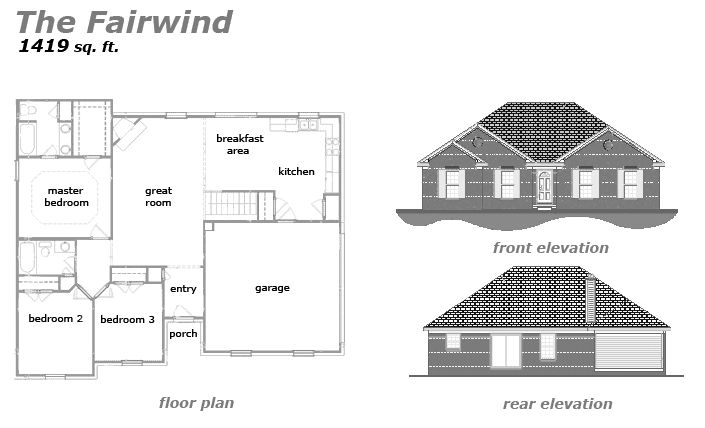The Fairwind Floor Plan by Jeda Homes