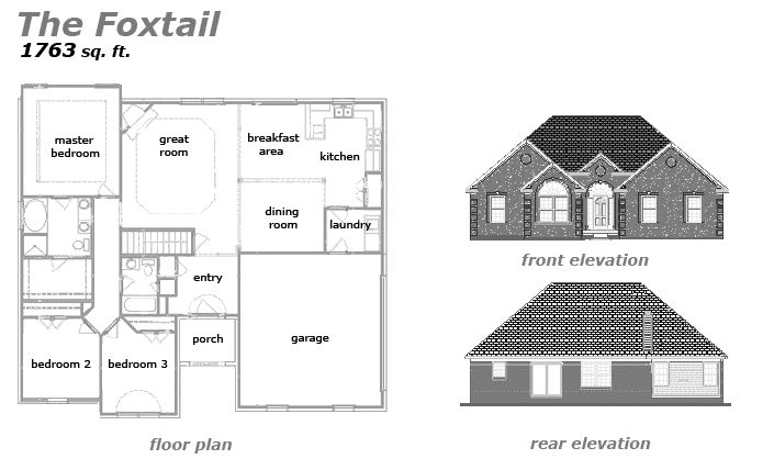 The Foxtail Floor Plan by Jeda Homes