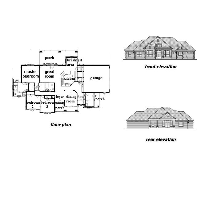 The Barnwell Floor Plan by Jeda Homes