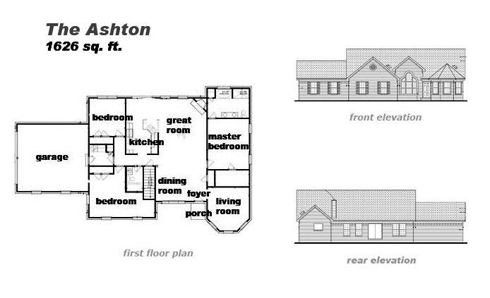 The Ashton Floor Plan by Jeda Homes